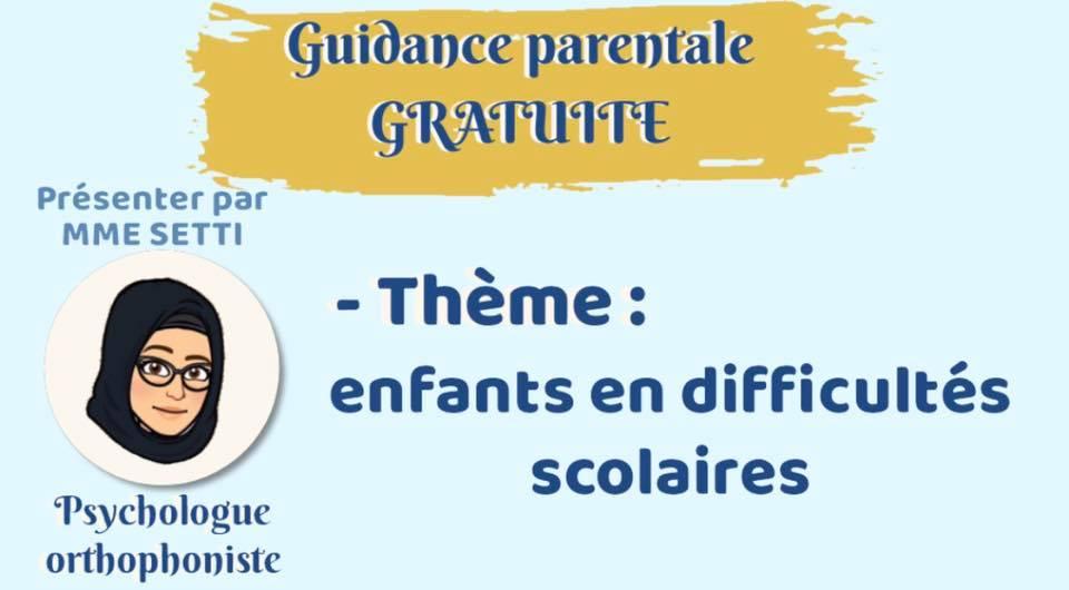 Guidance parentale GRATUITE