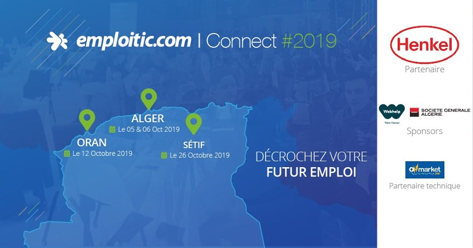 Salon de recrutement Emploitic Connect