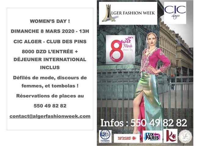 alger fashion week vitrine de la mode algérienne